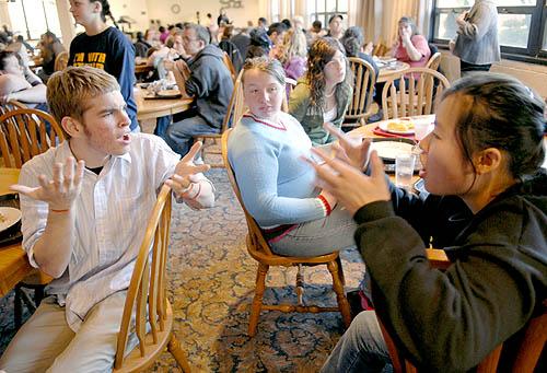 Australia students visit WPSD   Western Pennsylvania School for the