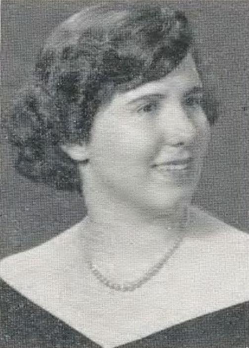 1952 Senior Picture - Virginia Zamperini